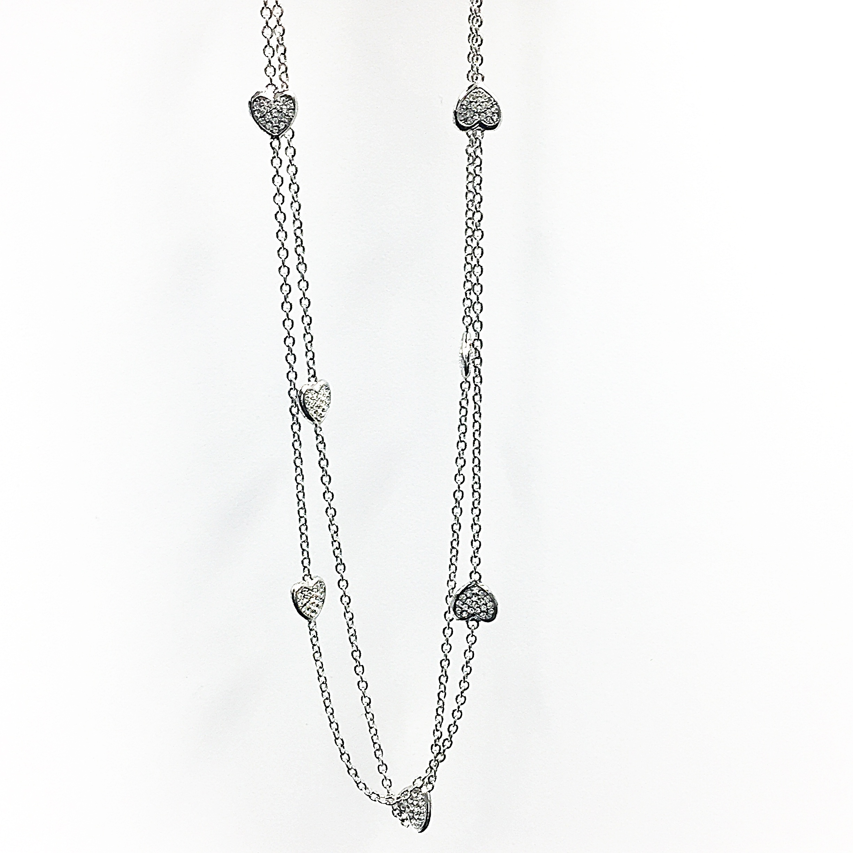 Larry G. Adams Heart Necklace