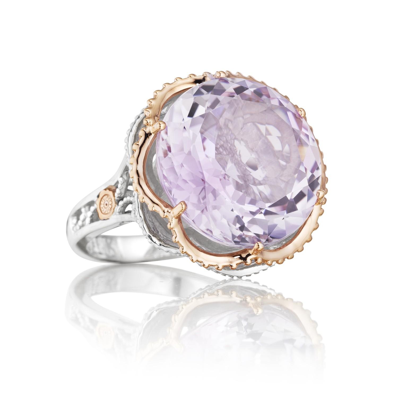 Tacori Lilac Blossom Crescent Ring - Style SR12313