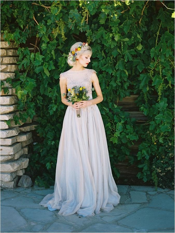 Rose Quartz and Serenity Wedding Dress