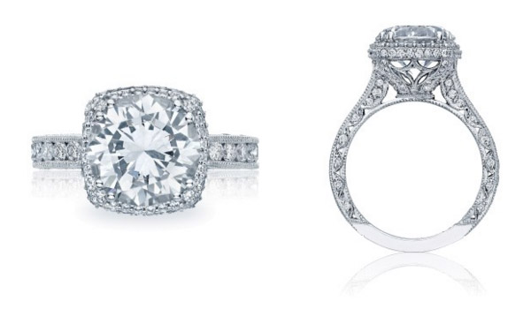 Round RoyalT Tacori Engagement Ring