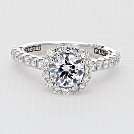 Full Bloom Engagement Ring