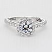 Full Bloom Engagement Ring