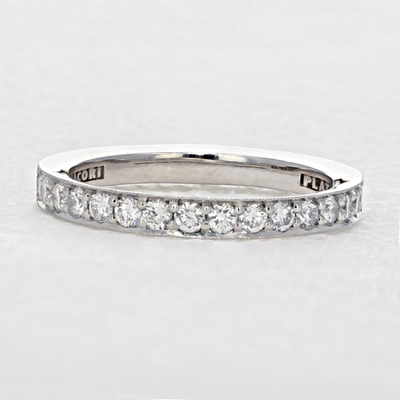 Tacori Platinum Wedding Ring Set