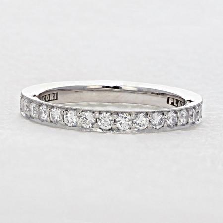 Tacori Platinum Wedding Ring Set