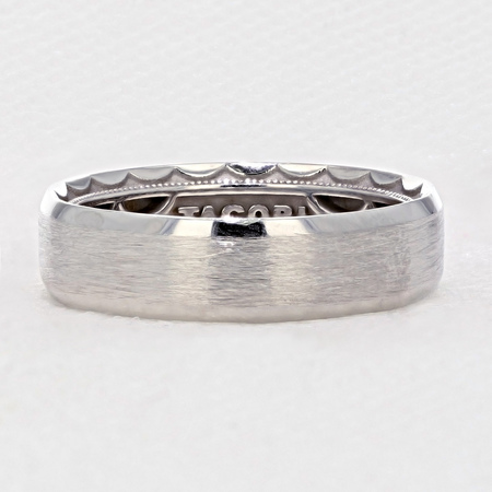 Tacori Platinum Wedding Ring Set for the Man