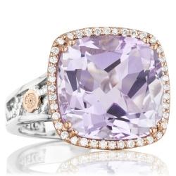 Tacori Blushing Rose Fashion Ring (Style #SR100P13)