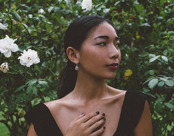 Hone & Silk Stephanie Liu Wears Tacori